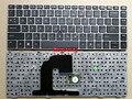 Клавиатура для HP EliteBook 8470B 8470P 8470 8460 8460p 8460w ProBook 6460 6460b 6470 с серебряной рамкой