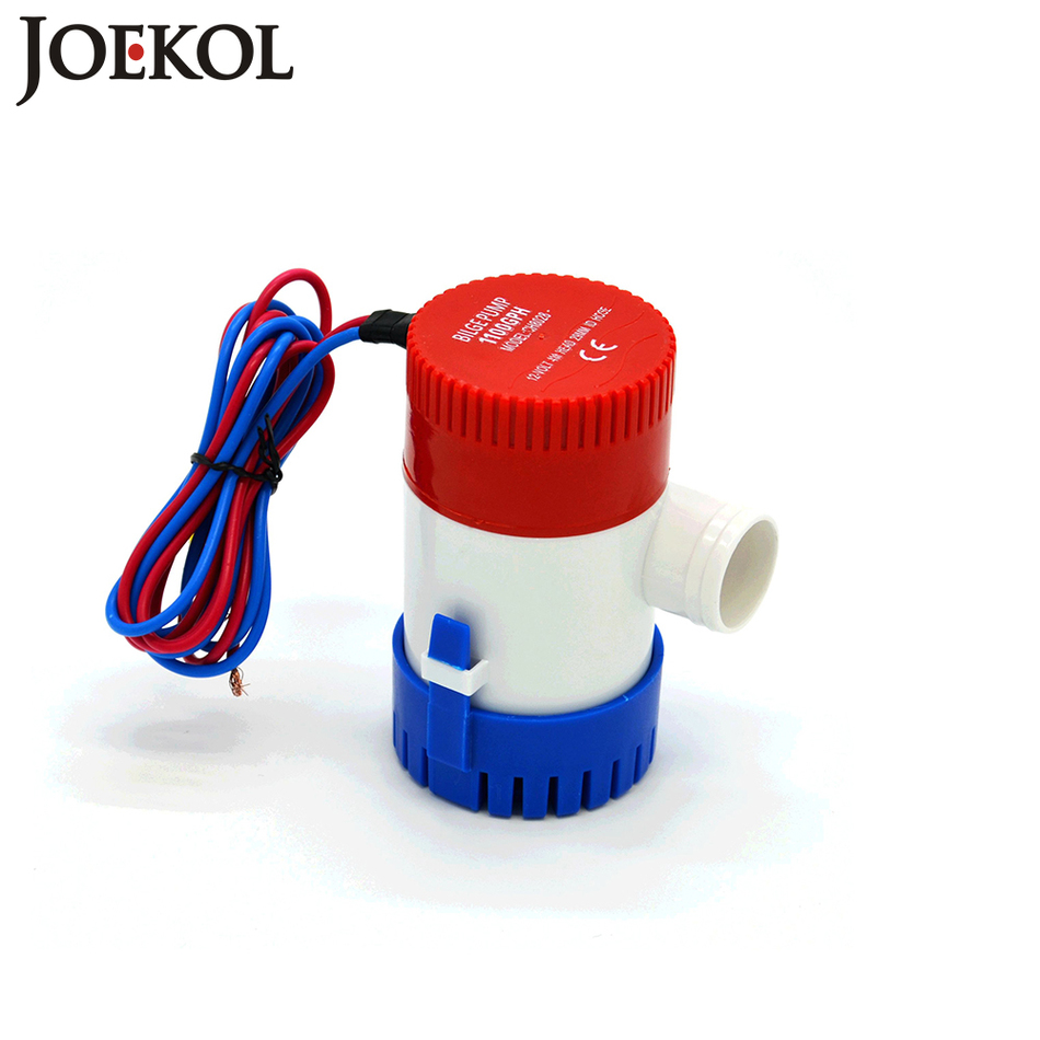free shipping dc 12v 24v bilge pump 500 750 1100gph electric water pump for boats accessories marin submersible boat water pump [ 950 x 950 Pixel ]
