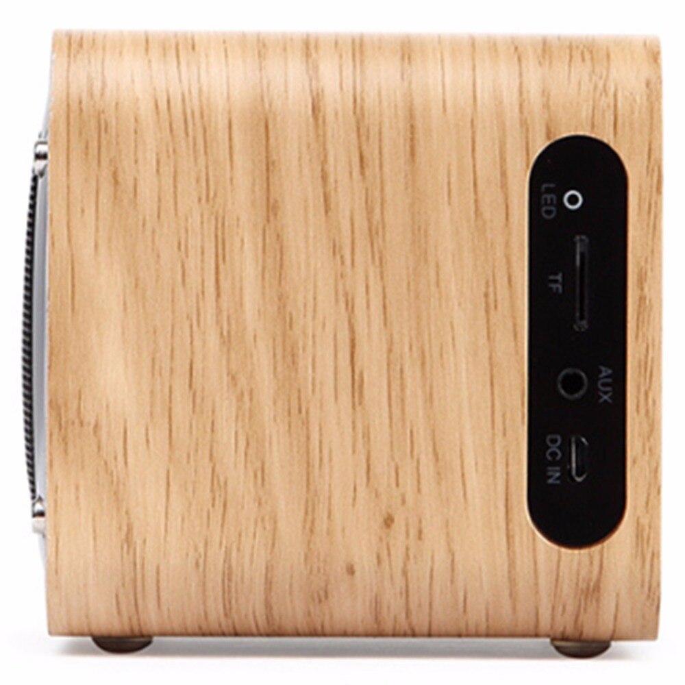 Teal Açıq İdman Taxta Simsiz Bluetooth Dinamik Smart Mini Əl - Portativ audio və video - Fotoqrafiya 4