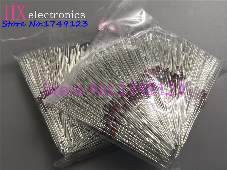 Free Shipping 500PCS 1N4148 IN4148 Diode DO-35 Switching Signal 4148 Best Quality 100% Good