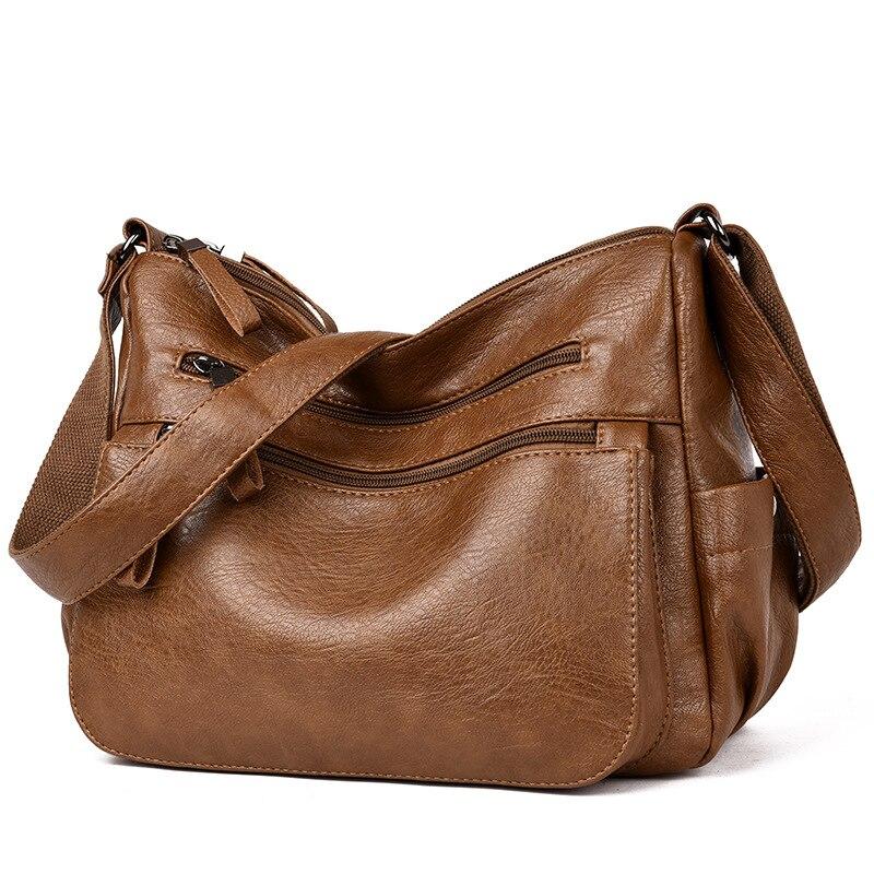 Mulheres de couro casual tote bags superior bolsa de mão feminina bolsa de ombro mensageiro bolsas senhora mão bolsa feminina nova venda quente c769