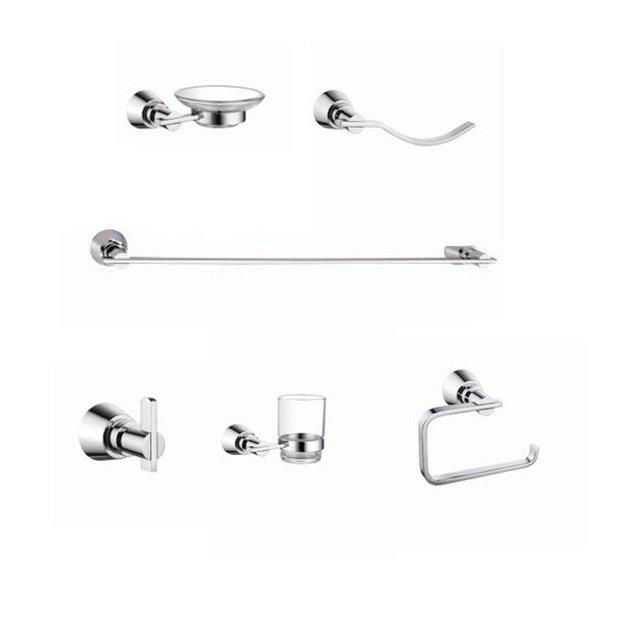 High Quality Bathroom Product, Bathroom Accessory Set , Bath Hardware Set ,CY-42000/6 +Retractable Washing Line  ,Free Shippping