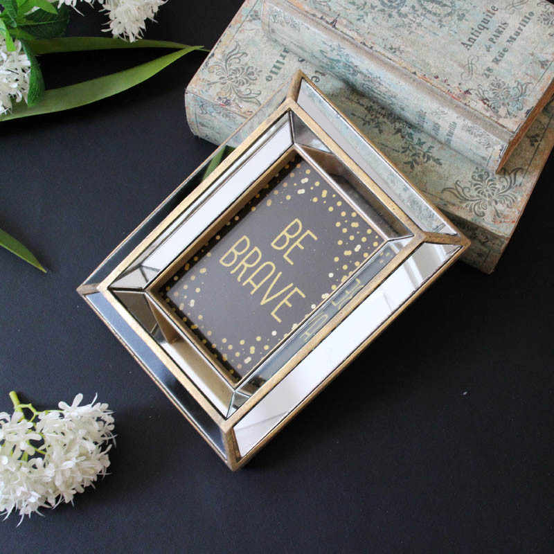European style new classical antique old golden mirror creative photo frame personality photo frame home decoration