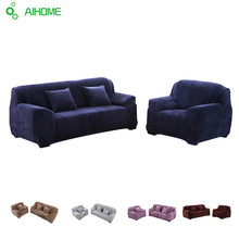 Sofa sets cover All-inclusive sofa covers Plush thickening Single Double Sofa Cover Pillowcase Solid Sofa Full Covers