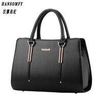 HNSF 100 Genuine Leather Women Handbag 2017 New Bag Female Sweet Lady Stereotypes Fashion Handbag Crossbody