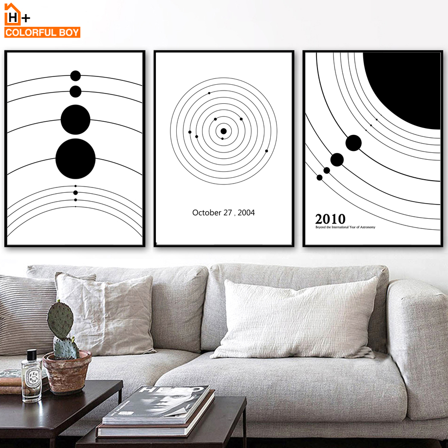 Q004 Space Kids Astronaute Cool Bedroom Canvas Picture Poster Wall Art Stickers