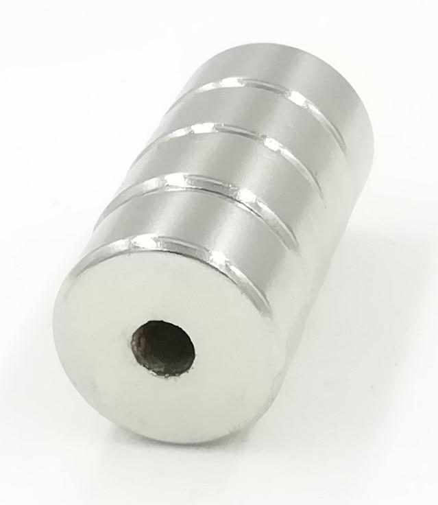 20*10 N35 Magnet 5 Stück Kleine Disc Ring Magnet 20mm X 10mm Loch 5mm Runde Rare Earth Neodym Magneten N35