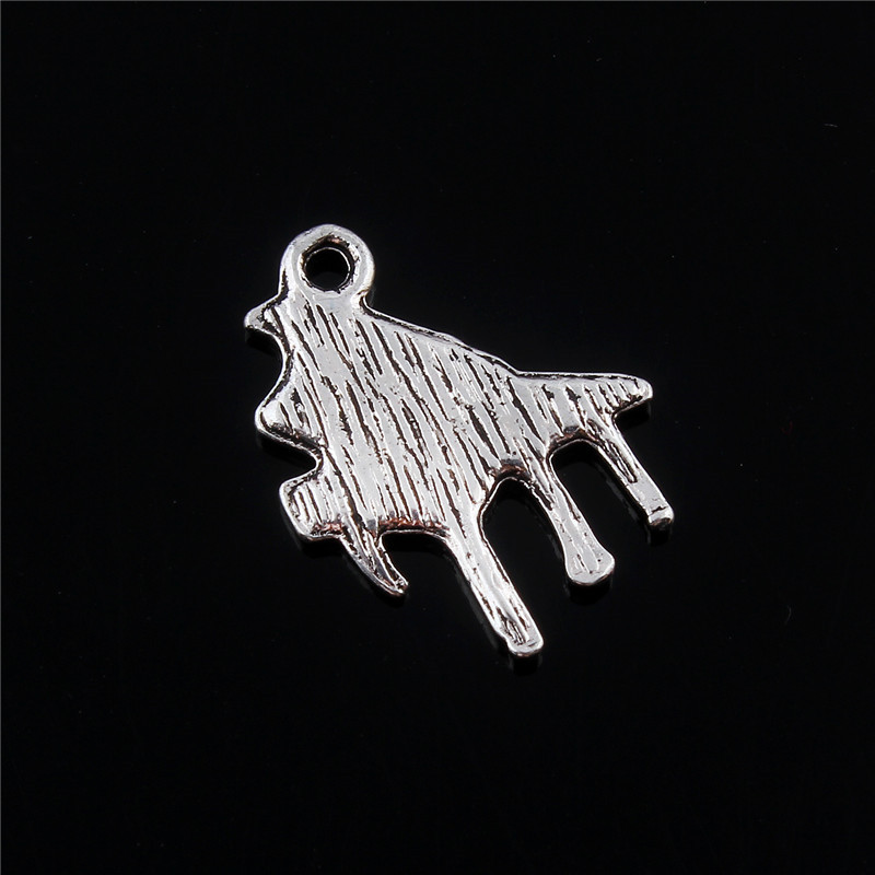 10pcs Piano Musical instrument Tibetan Silver Bead charms Pendants 19*15mm