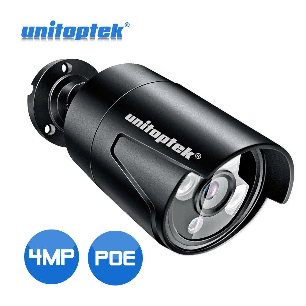 HD 4MP Bullet POE IP Camera Outdoor Waterproof IP66 H 265 CCTV Camera 25fps Realtime IR