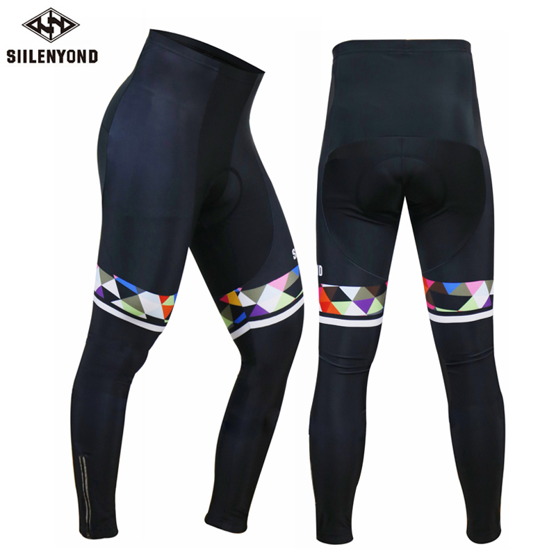 Siilenyond Men 2018 Cycling Pants Summer Pro 3D Gel Padded Bike Pants Long Sports Breathable MTB Road Bicycle Trousers Ciclismo