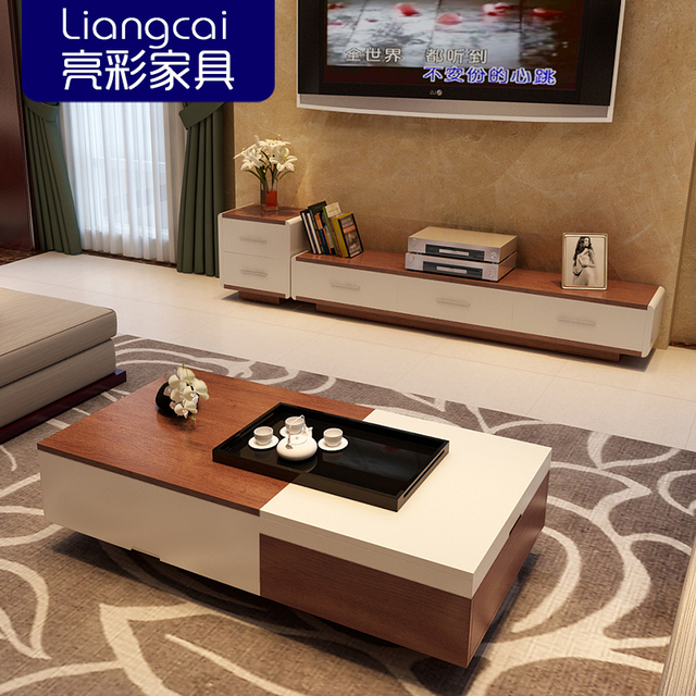 helderder wit minimalistische tv kast hout kleur binatie van