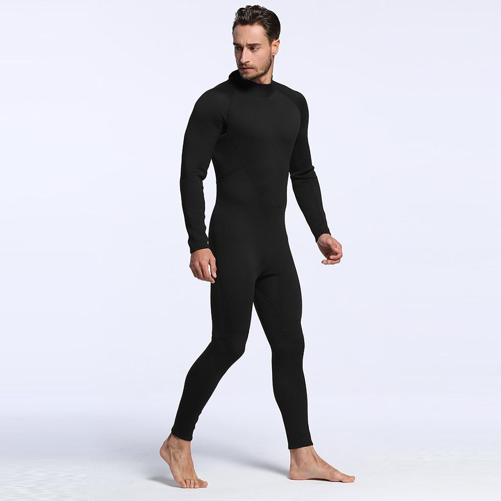 Diving Suit Surfing Long Sleeve Slim Black Panties