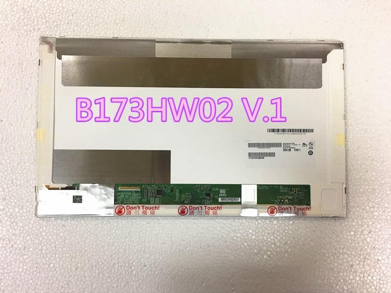 17.3 inch 1920x1080 B173HW02 N173HGE L11 L12 LTN173HT01 B173HW01 V0 LP173WF1 TLA2/B2/B5 HSD173PUW1-A00 Laptop LCD Screen 40PINS стоимость