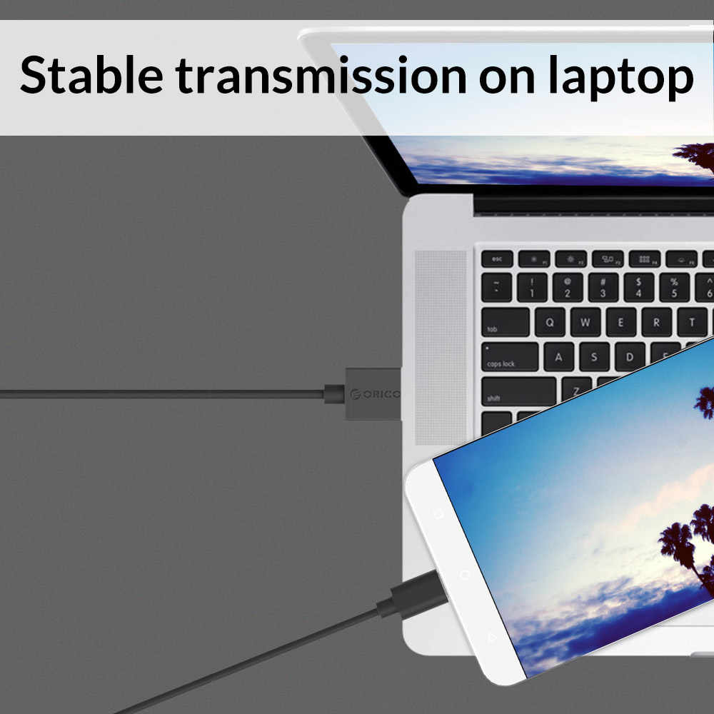 ORICO USB نوع C كابل نوع-c سريع شحن كابل بيانات USB شاحن هواتف xiaomi Mi9 Redmi ملاحظة 7 Meizu برو 6 هواوي زميله 20 الموالية