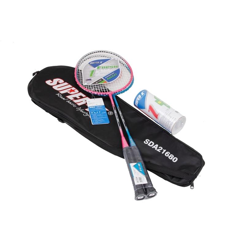 67cm adminton Rackets raquette de badminton 1 Pair with Bag Badminton Rackets