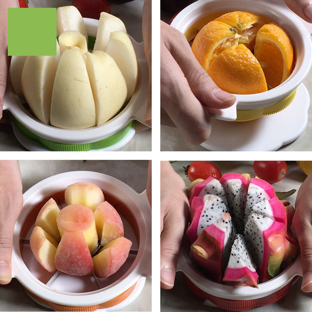 4 pieces set stainless steel blade slicer and cutter fruits