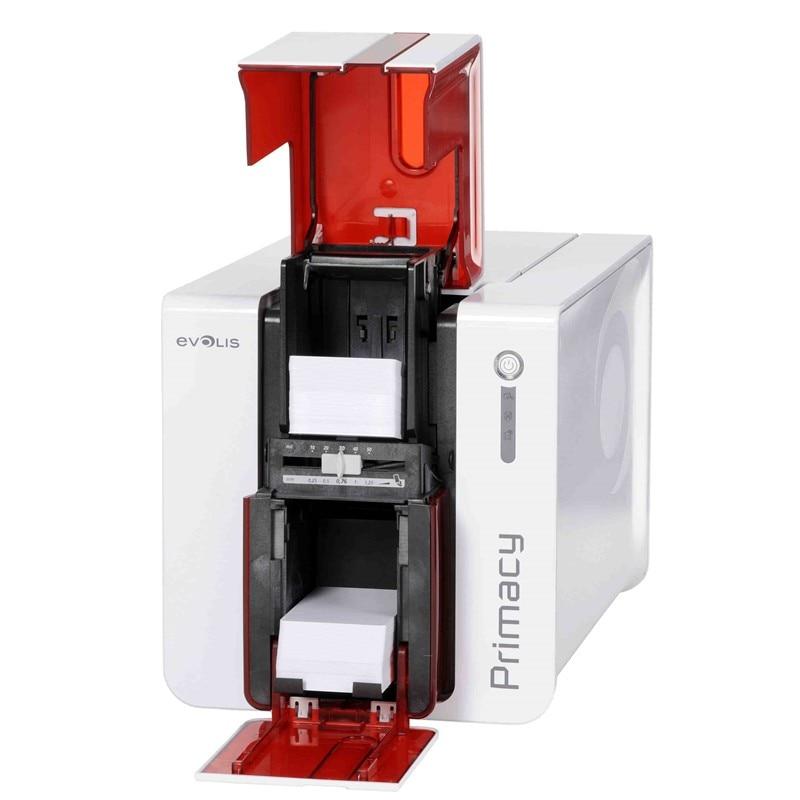 EKARWELT Evolis primacy single-sided id card printer YMCKO ribbon Black ribbon