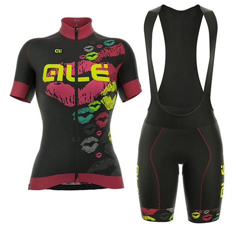 Womens 100% Breathable Cycling Jersey 2018 ALE NEW Summer Racing Bicycle Clothing Ropa Maillot Ciclismo MTB Bike Clothes Wear