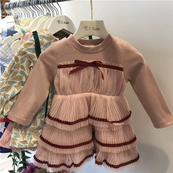 dea649b2720be Baby Girl Party Dresses 2018 Winter Kids Thicken Dress Fashion Sweet Princess  Dresses High-grade Children Belle Clothes