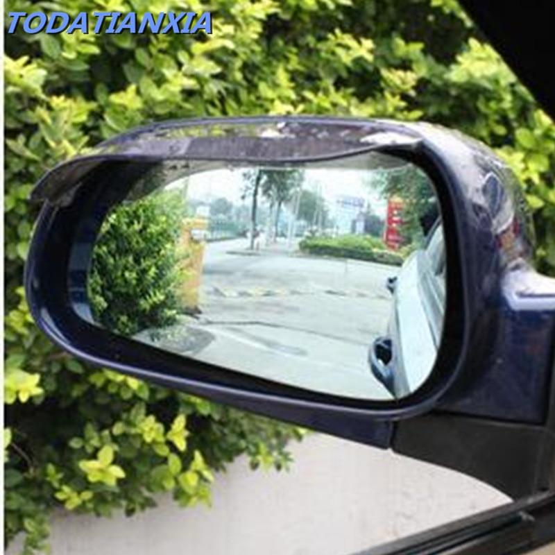 2pcs Car View Mirror Anti Rain Guard Shade For Prado Sequoia Auris Corolla Rav4 Yaris Honda Civic Accord Fit Crv Nissan Qashqai Aromatic Character And Agreeable Taste Exterior Accessories