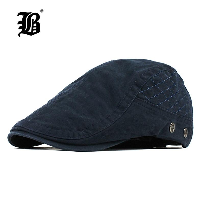[FLB] Flat Caps For Men Hat Unisex Beret Cap Women Summer Casual Sun Breathable Hats Black Berets Cabbie 2018 Chapeau Homme F507 бейсболк мужские