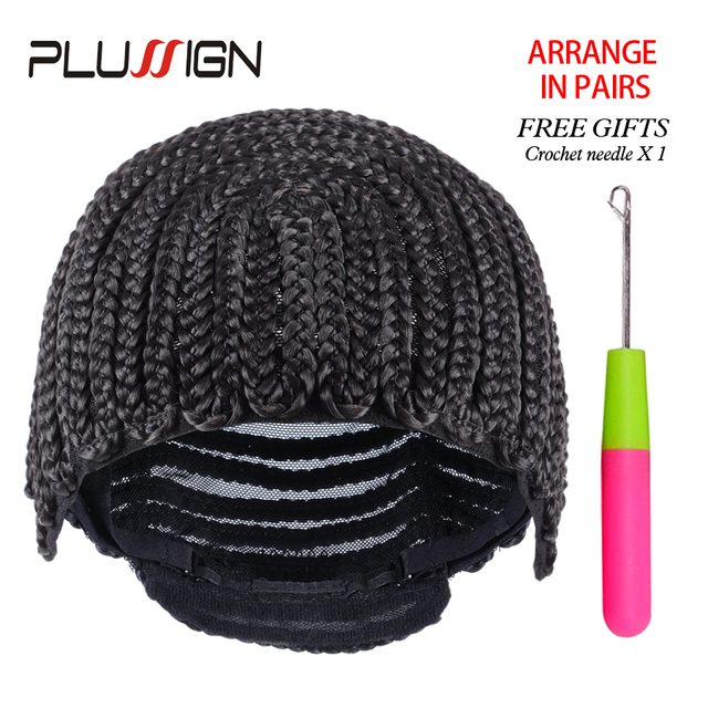 Best Quality Cornrow Wig Cap 1 Piece With Crochet Hook Needle 1