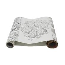 1 ks Scroll Doodle Kids Kreativita školní nástroje umělecké potřeby výkresy tablet kraft šablony pro malování scrapbooking papír