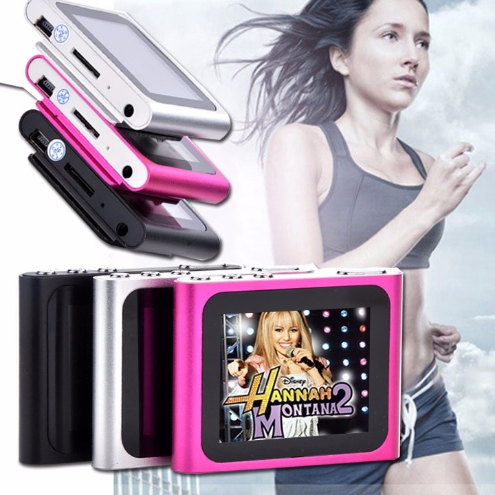 """6th Gen 1.8inch 1.8"""" LCD FM Radio Video Music Mp3 Mp4 Player Support 2G 4GB 8GB 16GB Card WMV format TFT 262K color screen 1"""