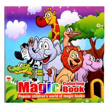 Wonderful Zoo cartoon puzzle book coloring children\'s Intelligence development parent-child interaction interest cultivation - DISCOUNT ITEM  30% OFF All Category