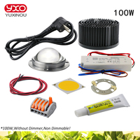 100W 200W 300W CREE CXB3590 COB LED Grow Light DIY Module Full Spectrum LED Grow Lamp Indoor Plant Ideal Holder MEANWELL Driver