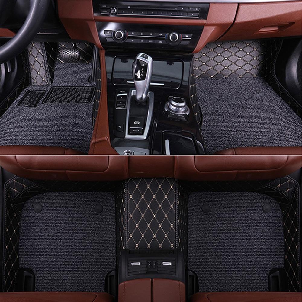 Sunny Fox автомобильные коврики для Audi A6 C5 C6 C7 A4 B6 B7 B8