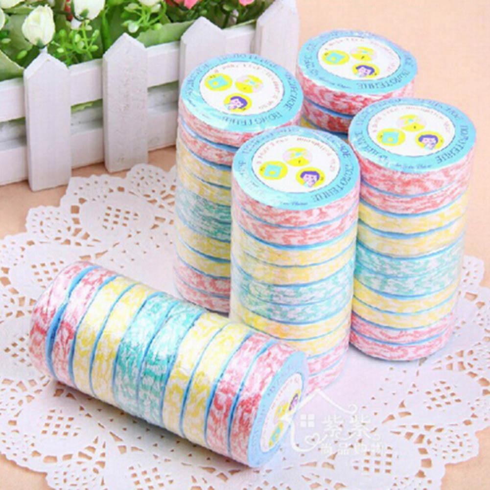 2 teile//satz Farbe Zufällig Komprimieren handtücher Große holz faser vlies komprimiert handtuch Multicolor Tragbare reise handtuch geschenk