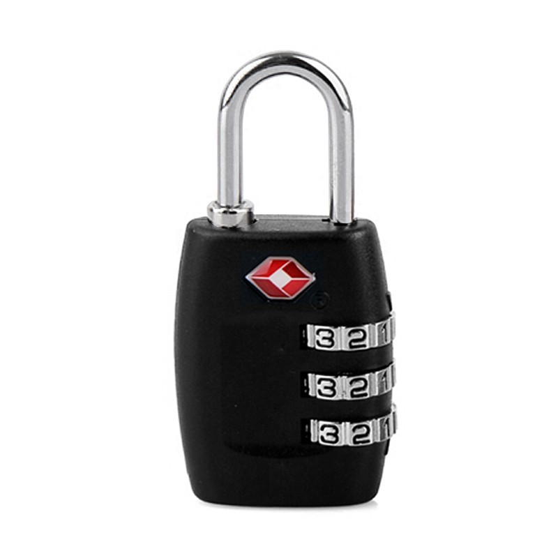 ShineTrip Travel Lock Alloy TSA Customs Combination Code Lock Padlock For Luggage Zipper Bag Handbag Suitcase Drawer Cabinet