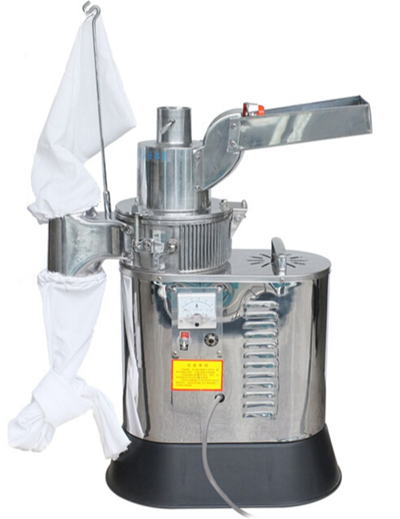 New Automatic Continuous Hammer Mill Herb Grinder Pulverizer machine