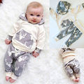 Baby Boys Christmas 2pcs/set Clothing(Deer Long Sleeve Hoody+Pants) Newborn Infant Girls New Year Clothes Outfits Babies Suits