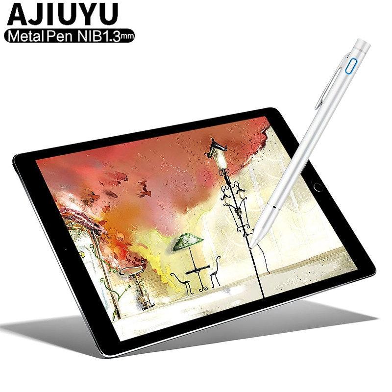 Active Pen Stylus Capacitive Touch Screen Pen For Lenovo Tab M10 P10 E10 TB-X104F/L TB-X605F/L TB-X705F/L Tablets Pen Case Metal