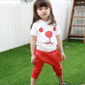 New Style Children's Sets Boys Girls 2PCS Hooded Tops+ Harem Shorts Cotton Suits Costume