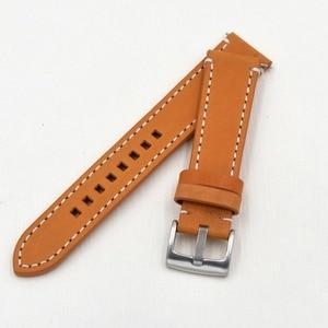 Image 4 - ที่ทำด้วยมือหนังแท้Watch Bands 18 19 20 21 22 23มิลลิเมตรสีดำสีน้ำตาลเข้มนาฬิกาข้อมือสายรัดเข็มขัดสำหรับภายใต้แบรนด์นาฬิกาแทนที่