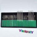 30 Unids Dental Diamante Burs Millers Dental Taladro Jewelers Dentista Producto