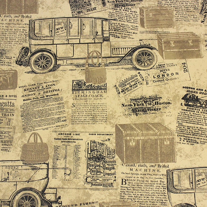 PAYSOTA American Style Letter Wallpaper Room Home Furnishings Wall Paper Roll