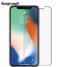 Ultra-thin Protective glass for iPhone X Tempered Glass For iphone 6 6s plus Protective glass for iphone x screen protector 2.5D lidu ultra thin protective tempered glass screen guard protector for iphone 6 4 7