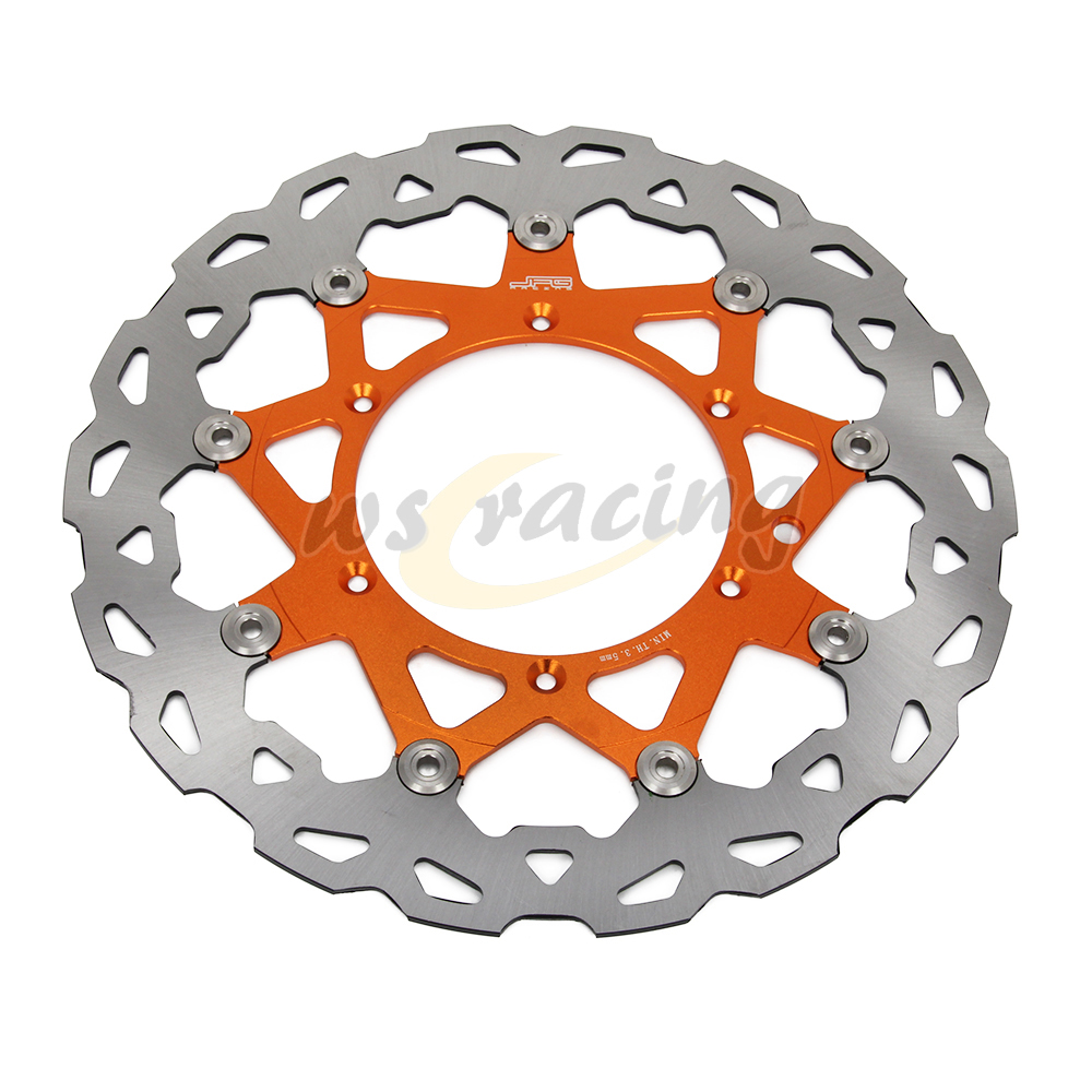 CNC 320MM Motorcycle Front Floating Brake Disc Rotor For KTM EXC125 GS125 MX125 SX125 SXS125 SX144 SX150 EXC200 SX200 MXC200 320mm floating motorcycle brake disc disks rotor for ktm duke 125 200 390 duke 2013 2016 motorbike front brake disc disks