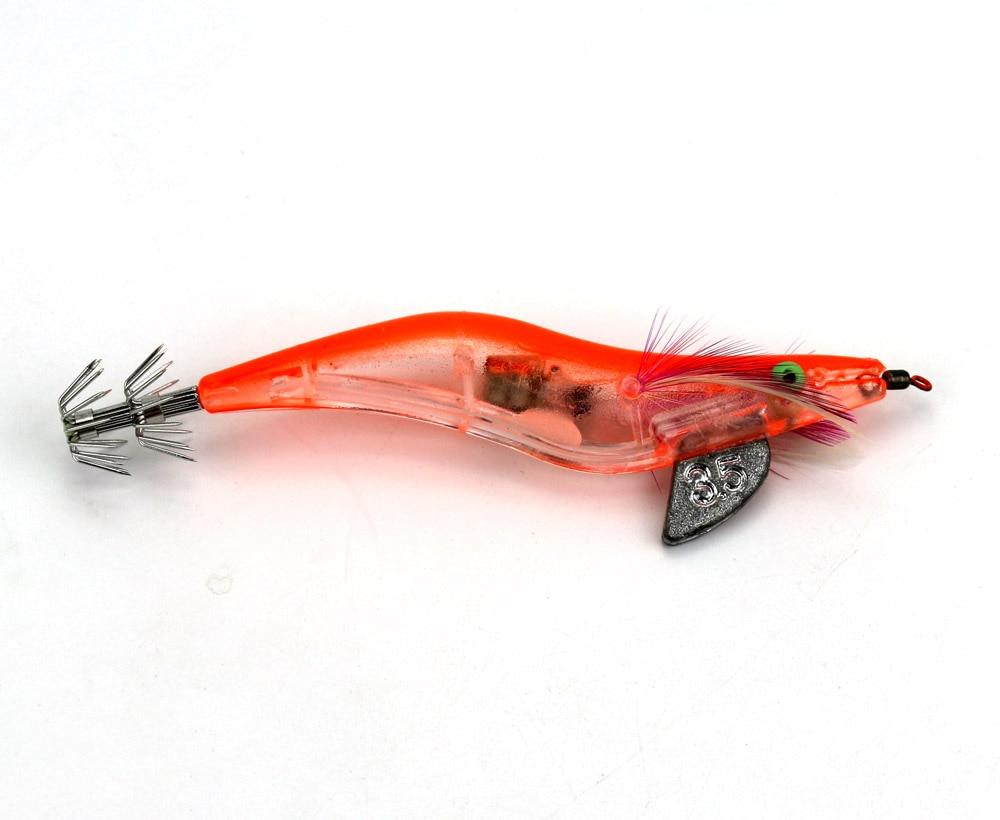 10 pçs eletrônico camarão pesca iscas 12.8cm