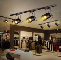 LED Track Light Clothing Shop Windows Showrooms Exhibition Spotlight COB LED Ceiling Rail Spot Lamp