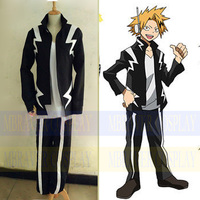 Anime Boku no Hero Academia My Hero Academia Kaminari Denki Cosplay costume customize