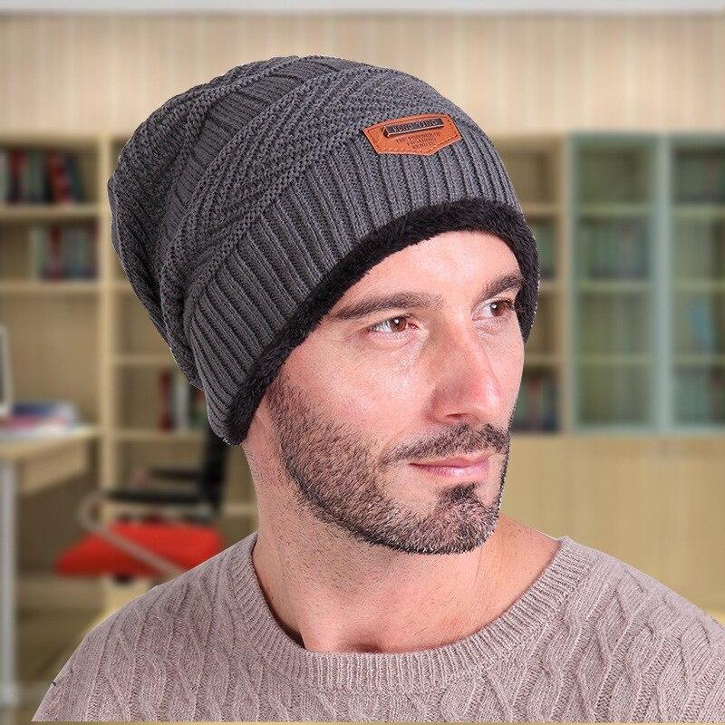 Newest Brand Beanies Knit Men s Winter Hat Caps Skullies Bonnet Winter Hats  For Men Women Beanie Warm Baggy Knitted Sport Hat-in Skullies   Beanies  from ... 2b065da2d28