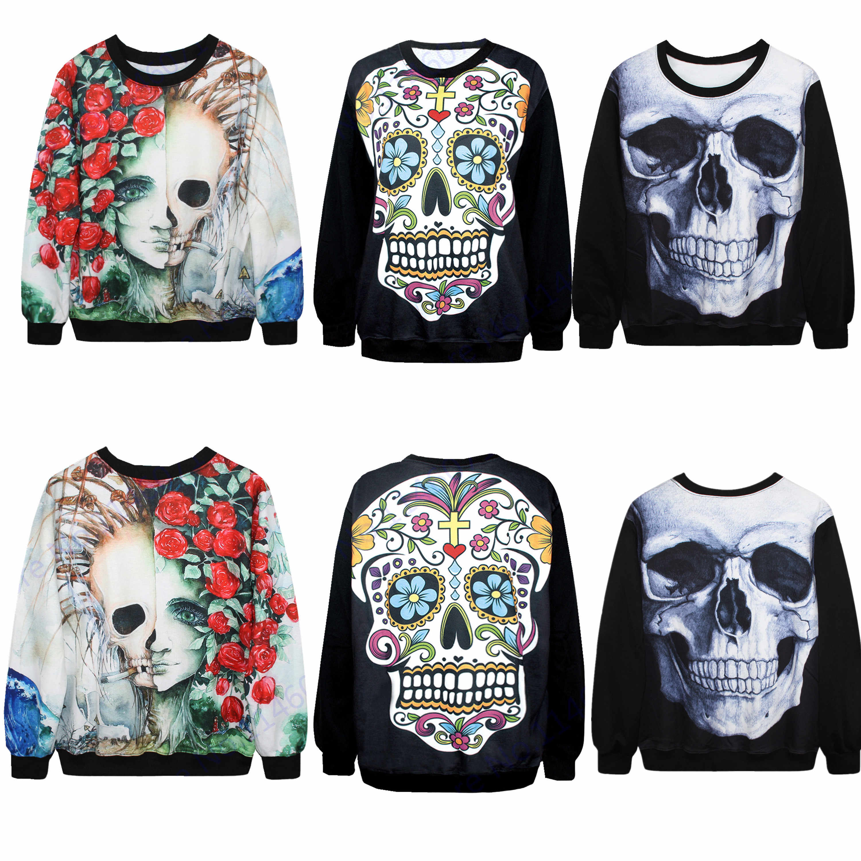 d7862130816f Detail Feedback Questions about Scary Skeleton Men Sport Suit Sugar ...