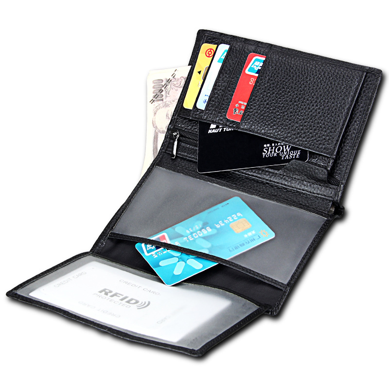 2018 Popular Style Mens Wallets Theft-proof Brushes Long Male Zipper Purse Passports Multi-purpose Money Bag Hot Sale