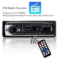 1 Din Car MP3 Multimedia Player Bluetooth Auto radio Car Stereo Radio 12V In dash SD USB Card Hands free FM Aux Input Receiver