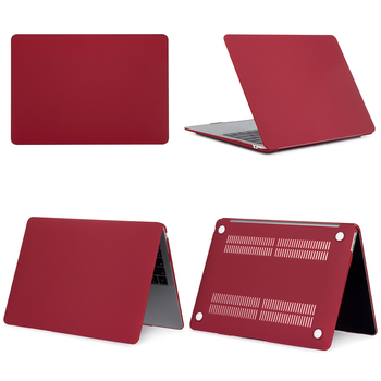Red Hard Case For Macbook Air & Pro 7
